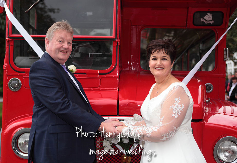 Big Red Bus  Ealing Wedding Photography